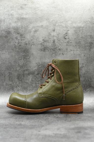 Hobo Charly Derby khaki Olive